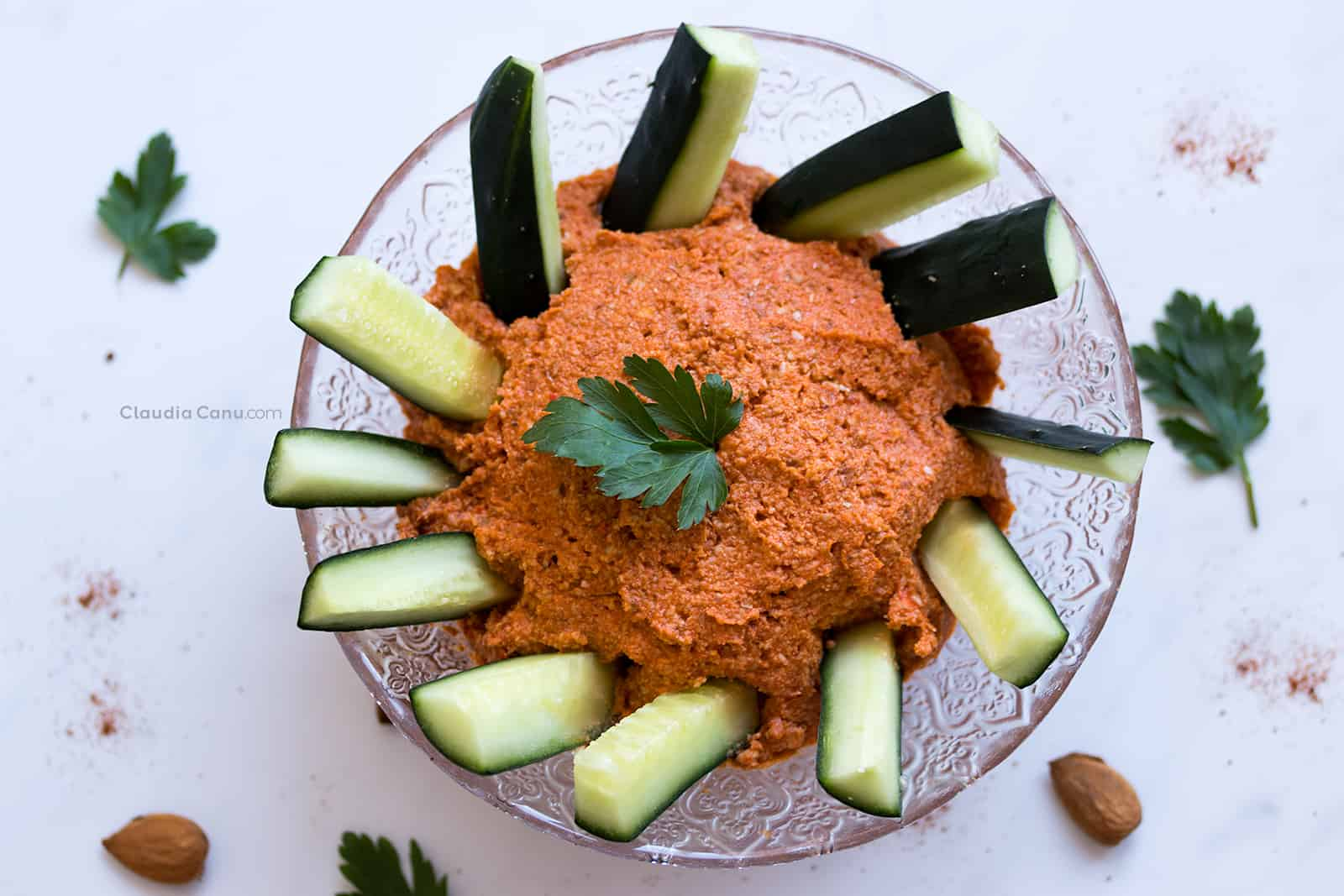 Mojo Picón or Red Bell Pepper Spread