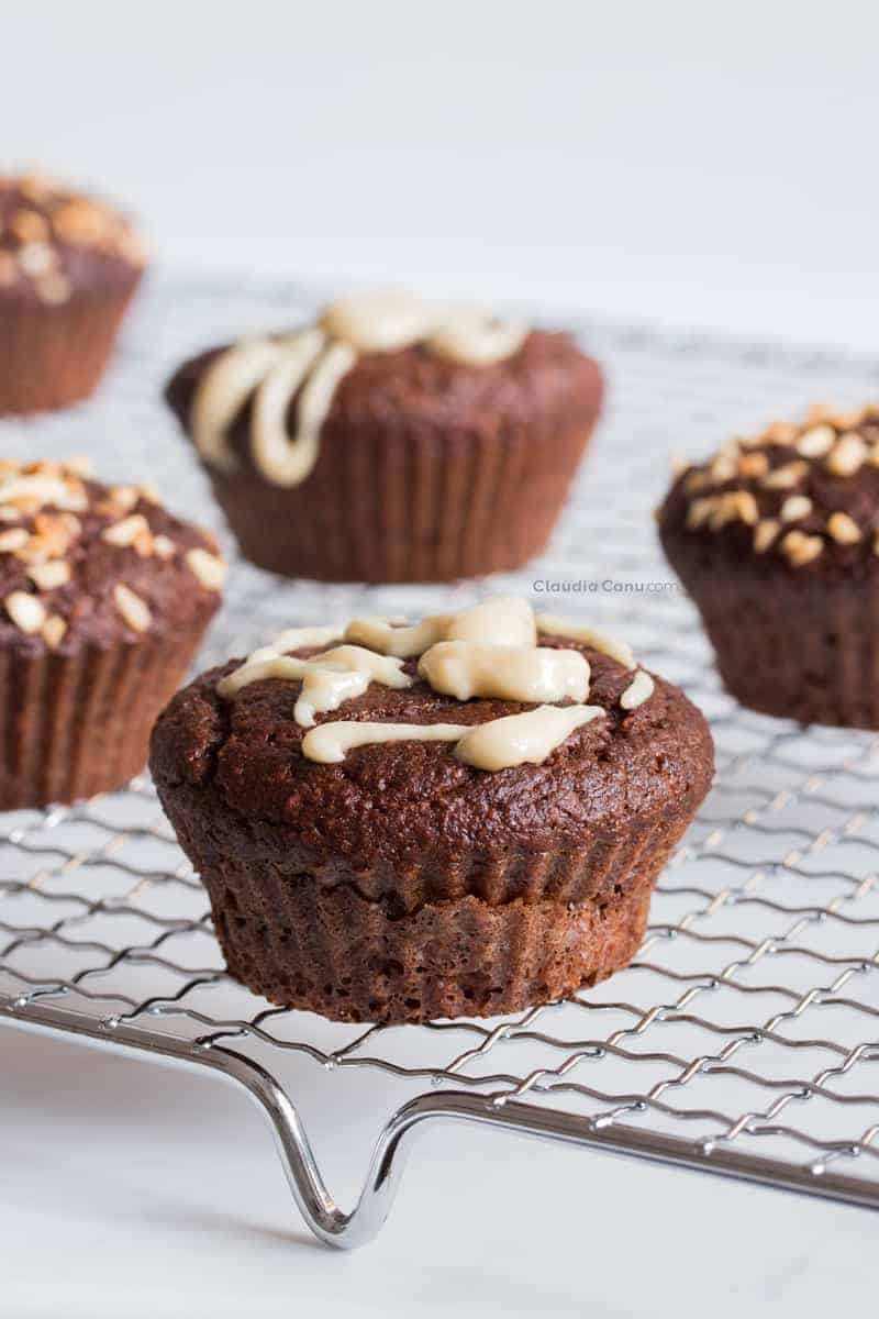 Gluten-free Chocolate and Carob Muffins