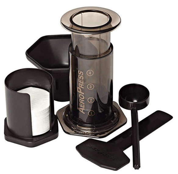 Aeropress to make coffee