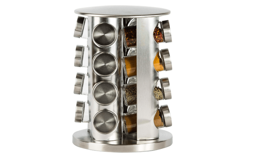 Countertop Spice Rack Stainless Steel, part of kitchen essentials