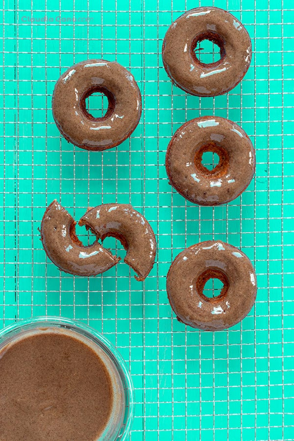 Healthy Baked Donuts Filled With Healthy Nutella