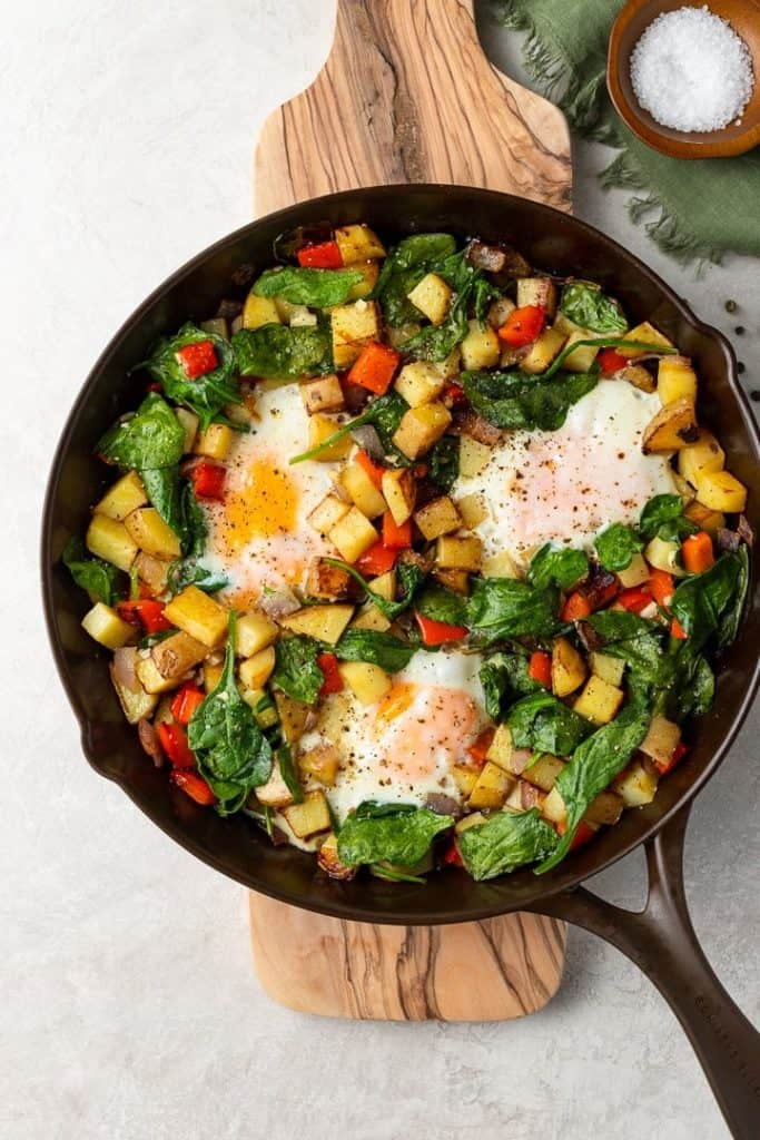 crispy potato breakfast skillet