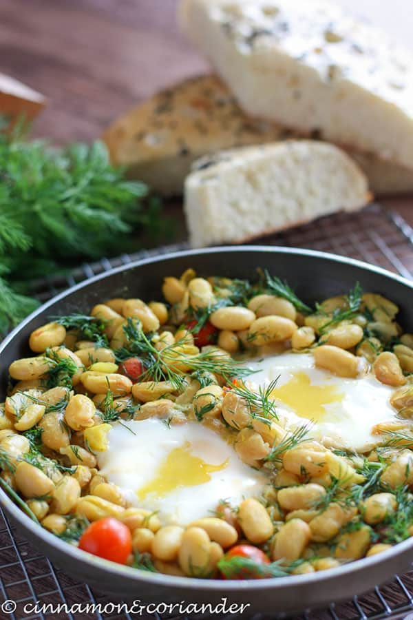 iranian bean egg recipe