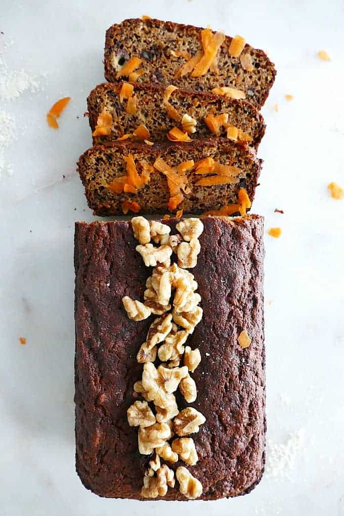 Carrot Banana Breakfast Bread