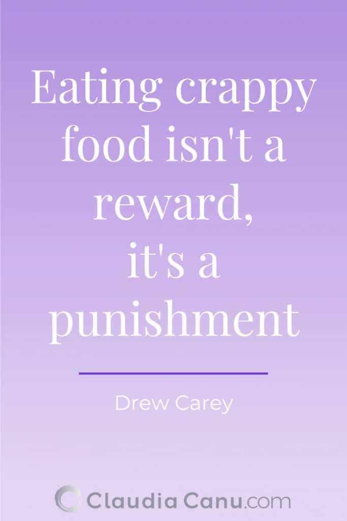 Healthy Eating Quote by Carey
