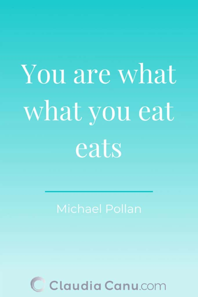 Healthy Eating Quote by Pollan